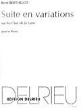 Image de BERTHELOT VARIAT CLAIR DE LA LUNE Piano