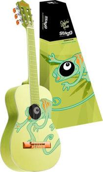 Image de Guitare Classique 3/4 TILLEUL CAMELEON