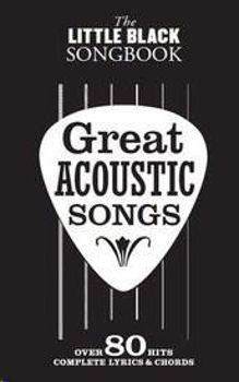 Image de LITTLE BLACK BOOK GREAT ACOUSTIC SONGS Over 80 Hits Guitare