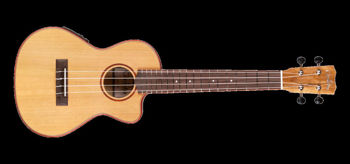 Image de UKULELE TENOR Electro Acoustique CORDOBA Table Cèdre Massif Corps Erable