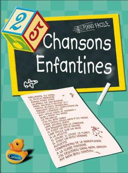 Image de 25 CHANSONS ENFANTINES PIANO FACILE
