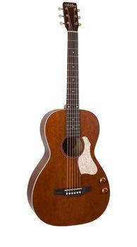 Image de Guitare de Voyage Folk Electro Acoustique ART & LUTHERIE Roadhouse Havana Brown Q Discrete +Housse