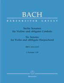 Picture of BACH JS SONATES 6 V1 BWV1014-16 BC Violon