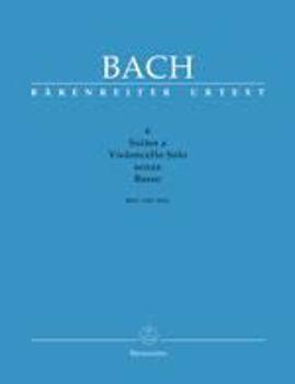 Image de BACH JS SUITES 6 SOLO BWV1007-12 SANZA BASS Violoncelle