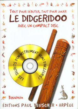 Picture of BAUDOUIN METHODE DIDGERIDOO +CDgratuit