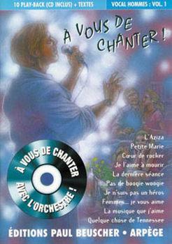 Picture of A VOUS DE CHANTER VOIX HOMME V1