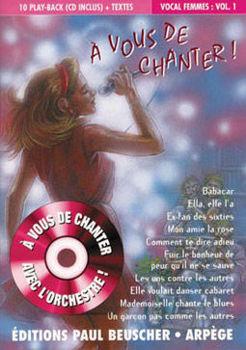 Picture of A VOUS DE CHANTER VOIX FEMME VOL 01