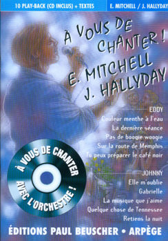 Picture of A VOUS DE CHANTER MITCHELL HALLYDAY+CD