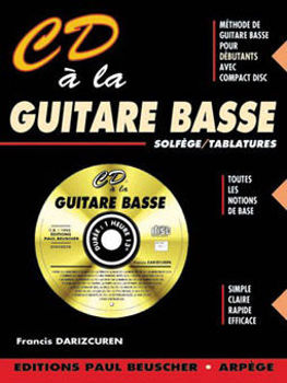 Picture of CD A LA Guitare BASSE DARISCUREN Tablature