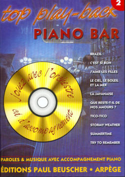 Picture of TOP PLAY BACK PIANO BAR V2 +CDgratuit Piano
