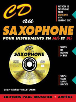 Picture of CD AU SAXOPHONE