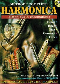 Image de MILTEAU Methode Complete harmonica Diatonique et  Chromatique +CDgratuit