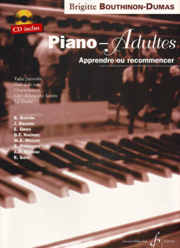 Picture of BOUTHINON-DUMAS  Piano Adulte V1+CD(gratuit) Methode
