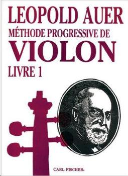 Picture of AUER Methode Progressive VIOLON V1 FRANCAIS Violon