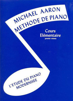 Picture of AARON Methode Piano Elementaire 1 Français