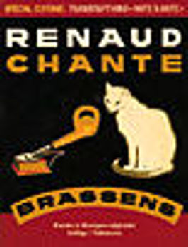 Picture of BRASSENS RENAUD CHANTE Guitare Tablature