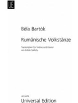 Picture of BARTOK B.Danses Populaires Roumaines Piano