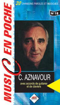 Picture of AZNAVOUR MUSIC EN POCHE accords paroles melodies