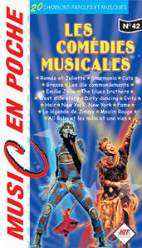 Picture of COMEDIES MUSICALES MUSIC EN POCHE accords paroles melodies