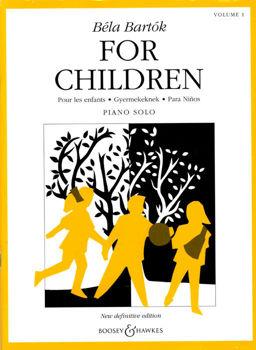 Picture of BARTOK FOR CHILDREN VOL1  B.H. Piano