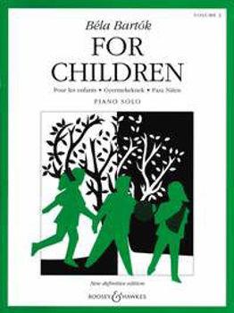 Picture of BARTOK FOR CHILDREN VOL2  B.H. Piano