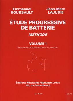 Image de BOURSAULT Etudes Progressives Batterie VOL 1