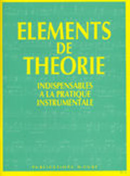 Picture of ELEMENTS DE THEORIE GANVERT