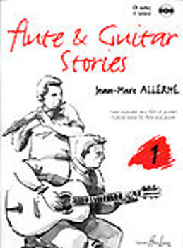 Picture of ALLERME FL GUIT STORIES V1 +CDgratuit Flute Traversière