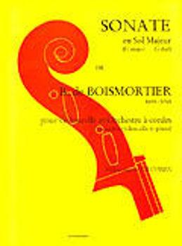 Image de BOISMORTIER SONATE EN SOL MAJ Violoncelle