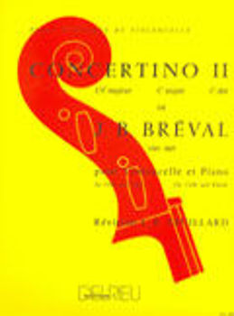 Image de BREVAL CONCERTO N°2 EN UT MAJ Violoncelle