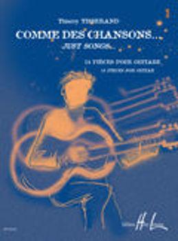Image de TISSERAND COMME DES CHANSONS V1 Guitare Classique +CDgratuit