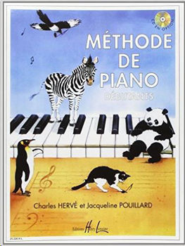 Image de HERVE ET POUILLARD METHODE DE PIANO DEBUTANT Piano