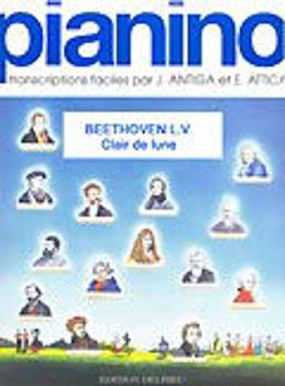 Image de BEETHOVEN CLAIR DE LUNE PIA40 Piano