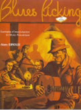 Picture of GIROUX LE BLUES PICKING +CDgratuit  Guitare Tablature