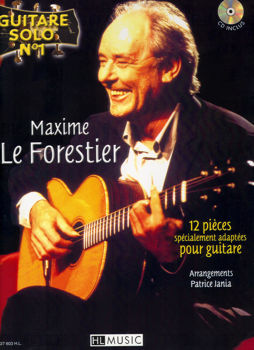 Picture of LE FORESTIER Guitare SOLO N1 +CDgratuit Guitare Tablature