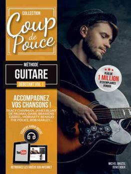 Picture of Coup de Pouce GUITARE Débutant Vol1 + Fichiers audio inclus