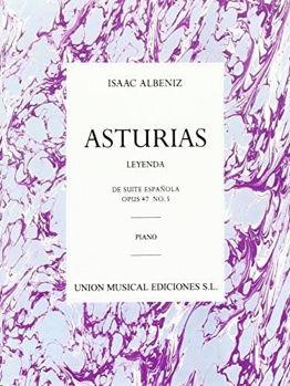 Image de ALBENIZ ASTURIAS LEGENDE 5 Piano