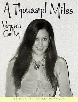 Picture of CARLTON VANESSA THOUSAND MILES Piano Voix Guitare