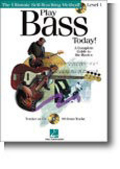 Picture of PLAY BASS GUITARE TODAY NV1 +CDgratuit Tablature