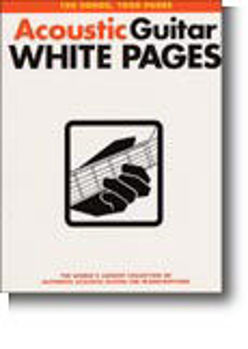 Image de ACOUSTIC GUITARE WHITE PAGES Guitare Tablature 150 Songs