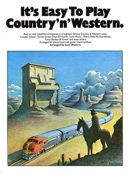 Picture of ITS EASY TO PLAY COUNTRY AND WESTERN Piano
