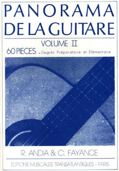 Picture of ANDIA PANORAMA GUITARE VOL2 Guitare Classique