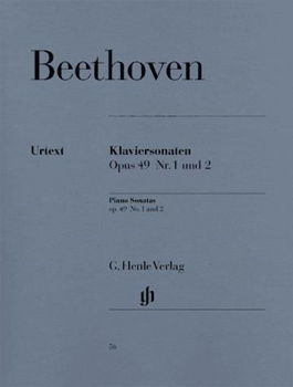 Picture of BEETHOVEN  SON 1 ET 2 OP49 Piano