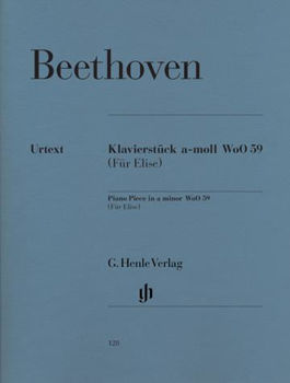 Picture of BEETHOVEN LETTRE A ELISE Piano