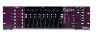 Picture of CONSOLE CHAMAN CONTROL 12 PROJECTEURS 192CIRCUITS SORTIES DMX STARWAY