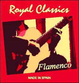Picture of JEU CORDES Guitare Classique FLAMENCO NYLON NOIR F.T. ROYAL CLASSIC