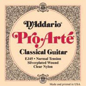 Picture of JEU CORDES Guitare Classique EJ45 TNormal D'ADDARIO