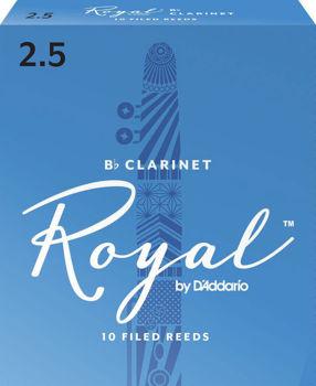 Image de ANCHE CLARINETTE SIB 2.5 RICO Royal BOITE x10
