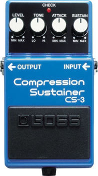 Picture of Pedale Effet COMPRESSION BOSS CS3 SUSTAIN