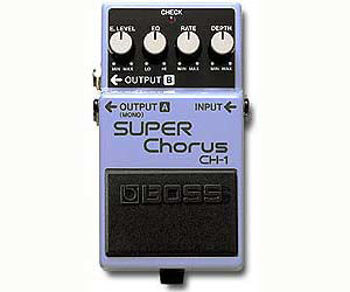 Picture of Pedale Effet CHORUS BOSS CH-1 Super Chorus
